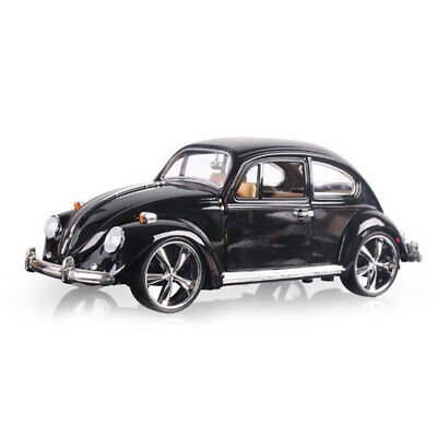 1:18 Vintage VW Beetle Superior 1967 Diecast Model Car Toy Collection Gift Black • 27.58£