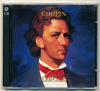 Chopin - Great Composers - Time Life - Double CD - Free Postage • 5£