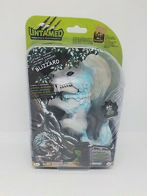 AU27.41 • Buy Untamed Fingerlings Direwolf - BLIZZARD New Interactive Toy 40 Sounds Gift