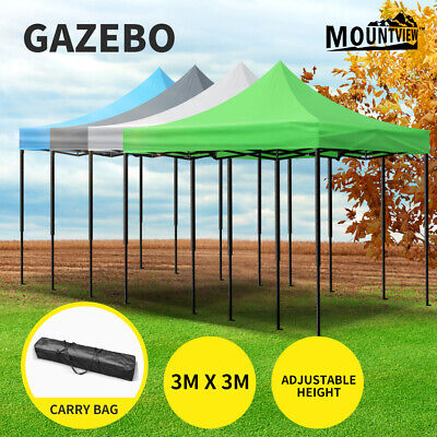 AU89.99 • Buy Mountview Gazebo Marquee Gazebos 3x3 Tent Outdoor Camping Canopy Wedding Folding