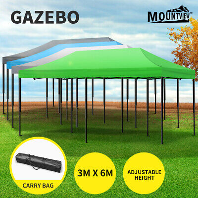 AU143.99 • Buy Mountview Gazebo Marquee Gazebos Tent 3x6 Outdoor Camping Canopy Wedding Folding