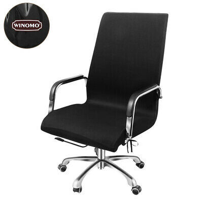 AU21.49 • Buy WINOMO Swivel Computer Chair Cover Stretch Office Armchair Protector Seat Decor