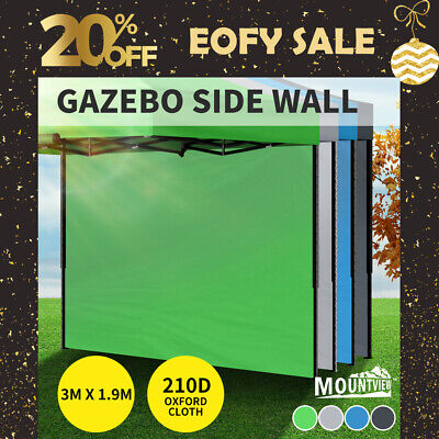 AU29.99 • Buy Mountview Gazebo Walls 3x1.9 Outdoor Side Wall Waterproof Party Wedding Deluxe