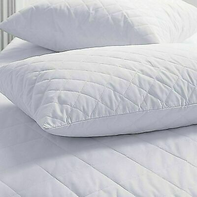 Waterproof Quilted Non-allergenic Soft Mattress Protector Fitted Sheet Cover  • 12.99£