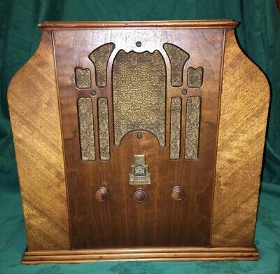 $ CDN253.73 • Buy Huge 1934 Worlds Fair Silvertone Tombstone Radio