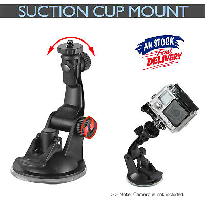 AU9.98 • Buy Car Suction Cup Adapter Mount Tripod For GoPro Hero 7/6/5/4 SJCAM Action Z6X8