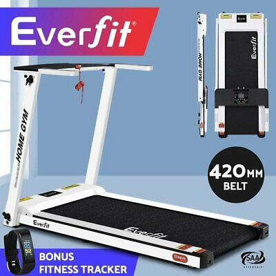 AU557.95 • Buy Everfit Electric Treadmill Compact Home Gym Exercise Machine + FITNESS TRACKER