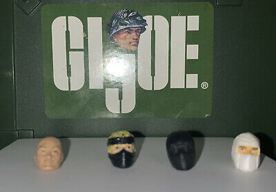 $ CDN9.15 • Buy GI JOE Cobra Head Lot  Custom Fodder (25th/30/50th ROC POC Marvel Star Wars)