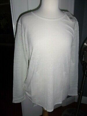 $17.99 • Buy Nwt Island Company Msrp $165 Women's Linen Knit Pullover Lt. Weight Size Xl