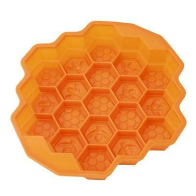 Honey Bee Silicone Soap Mold Crafts Making Honeycomb Forms Stone Mould GS1 • 4.44£