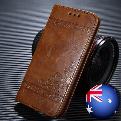 AU10.99 • Buy For IPhone 11 Pro XS Max XR X 8 7 6s Plus Leather Wallet Magnetic Flip Card Case
