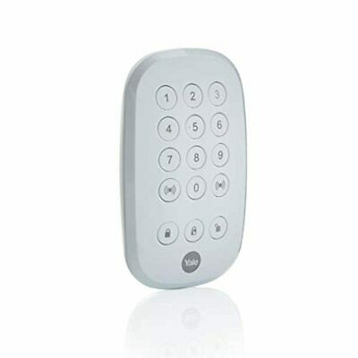 Yale AC-KP Sync Smart Home Alarm Accessory Remote Keypad White • 24.78£