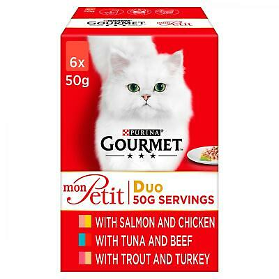 Gourmet Mon Petit Duo Cat Food | Cats • 22.45£