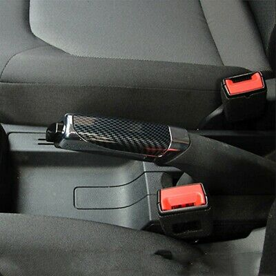 AU5.19 • Buy Hand Brake Protector Decoration Cover Black Carbon Fiber Auto Car Accessories