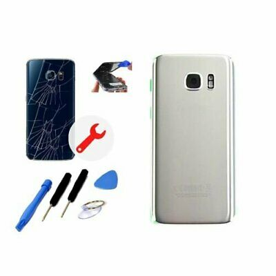 $ CDN12.48 • Buy Back Glass Cover Battery Door Replacement For Samsung Galaxy S7 Edge Repair Part