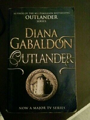 AU8 • Buy Outlander Diana Gabaldon Book Scotland Romance Jamie And Claire