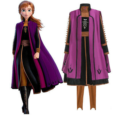AU10.75 • Buy 2019 New Released Girls Frozen 2 Anna Costume Party Birthday Dress 3-12 Years