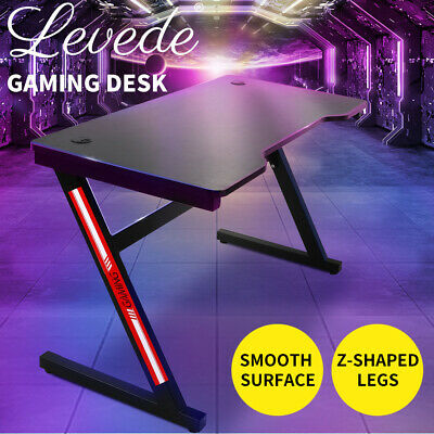 AU195.99 • Buy Gaming Desk Desktop PC Computer Desks Desktops Racing Table Office Laptop Home