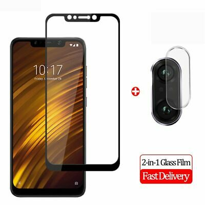 $ CDN4.64 • Buy 2 In 1 Tempered Glass For Xiaomi Pocophone F1 Camera Lens + Screen Protector