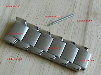Silver Top 6 FIXED Links To Fit AR2448 AR5963 Armani Men's Watch Strap  • 22.32£