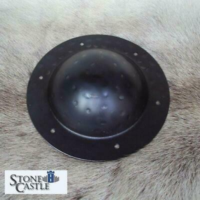 £19.50 • Buy 12 Ga Hammered Steel Shield Boss With Fixing Holes. Stage Costume & Re-enactment