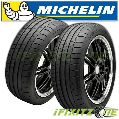 $590.88 • Buy 2 Michelin Pilot Super Sport 275/35R18 99Y Ultra-High Performance Summer Tires