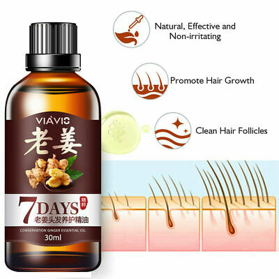 AU8.99 • Buy ReGrow 7 Day Ginger Hair Oil Germinal Growth Serum Hairdressing Loss Treatment D