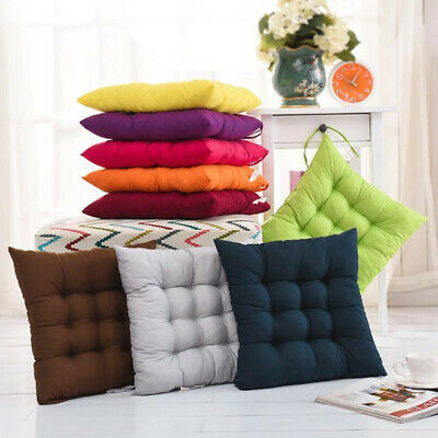 AU10.99 • Buy Square Seat Cushion Pads Chair Cushion Soft Office Garden Patio Indoor Student
