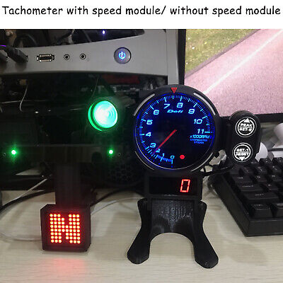 RPM Tachometer PC GAME Simulated Racing Game Meter Logitech G29 THRUSTMASTER 12V • 91.74£