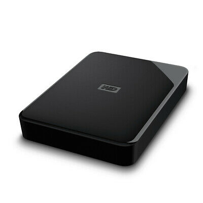 AU202.66 • Buy HDD 5 TB USB3.0 Portable Black WD Elements SE Western Digital WDBJRT0050BBK-WESN
