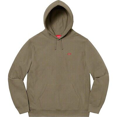 $ CDN286.03 • Buy Supreme Small Box Logo Hoodie Olive SS20 [Medium] Travis Scott Hooded Sweatshirt