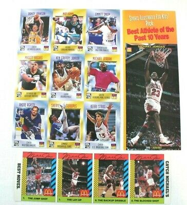 $19.95 • Buy Michael Jordan Cards Golf Sports Illustrated For Kids 97 Best Moves McDonal WC17