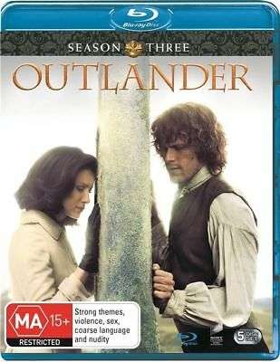 AU23.50 • Buy Outlander : Season 3 (Blu-ray, 5-Disc Set) NEW