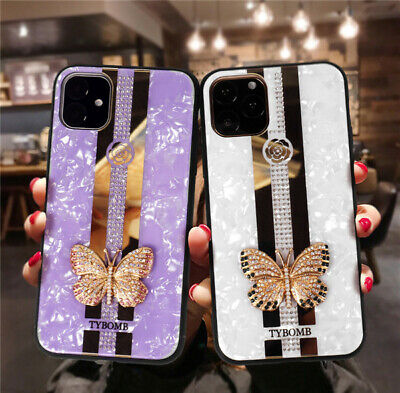 AU16.99 • Buy Fashion Glitter Glass Mirror Back Case Cover For IPhone 11 Pro XS MAX XR 7 8Plus