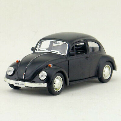 VW Beetle 1967 1:36 Model Car Diecast Gift Toy Vehicle Kids Collection Black • 11.90£