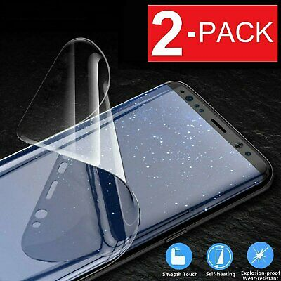 $ CDN6.95 • Buy 2-Pack HYDROGEL Screen Protector Samsung Galaxy S20 Ultra S10 S9 S8 Plus Note 20