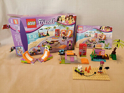 LEGO Friends #41099 Heartlake Skate Park - Complete, Box, Instructions, Mia • 14.46£