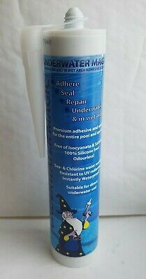 Underwater Magic - UNDERWATER Adhesive & Sealant - Colour White  • 31.50£