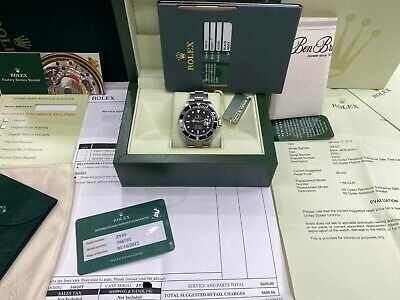 $ CDN11674.86 • Buy Rolex Submariner 16610 Black Stainless Steel Watch Box Papers 2007