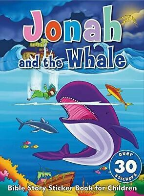 Bible Story Sticker Book For Children: Jonah And The Whale • 5£