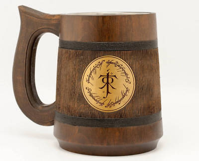 £27.26 • Buy One Ring Lord Of The Rings Mug Hobbit Stein LOTR JRR Tolkien Gifts Quote Mug