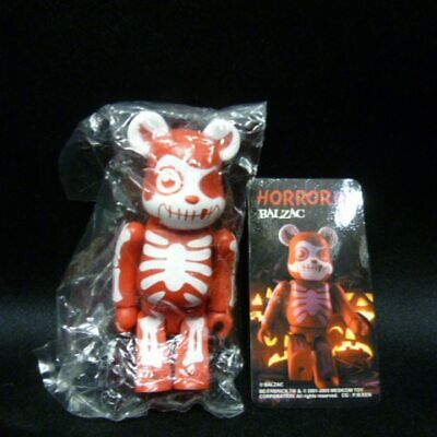 $45 • Buy MEDICOMTOY Be@rbrick (Bearbrick) 07 HORROR / BALZAC (red) / Be@rbrick (Bearb...