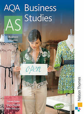 AQA Business Studies AS By Diane Mansell, Steven Foden, Peter Stimpson... • 4.20£