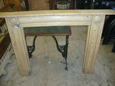 Large Victorian Georgian Style Pine Fire Surround • 500£