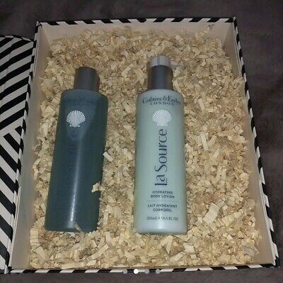 Crabtree & Evelyn London La Source Body Wash & Lotion New • 42£