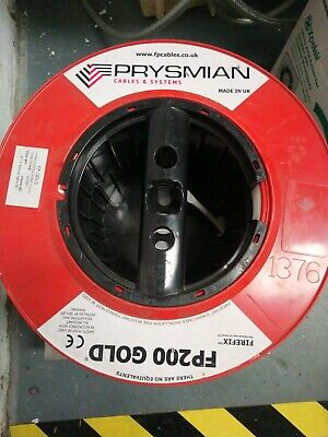 Prysmian FP200 Gold 2 Core + Earth 1.5mm PH30 Fire Rated Alarm Cable • 65£