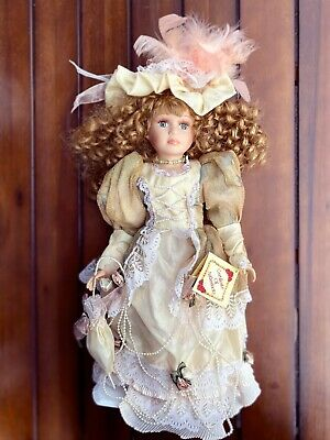 $ CDN32.47 • Buy Victorian Porcelain Doll-Limited Edition Collectible Dolls New