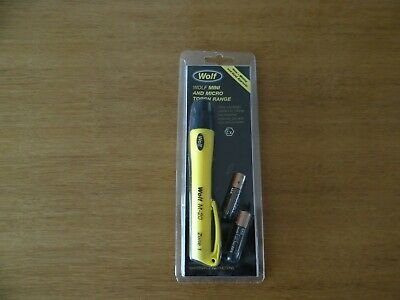 Brand New Wolf Mini And Micro Torch, Xenon Bulb Model  M-20 Zone 1 Price 20 • 18£
