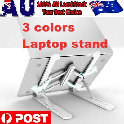 AU22.99 • Buy Laptop Stand Notebook Foldable Table Portable Tray Lazy Computer Desk Adjustable