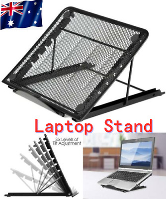 AU19.99 • Buy Adjustable Foldable Laptop Stand Table Portable Tray Lazy Computer Desk Notebook